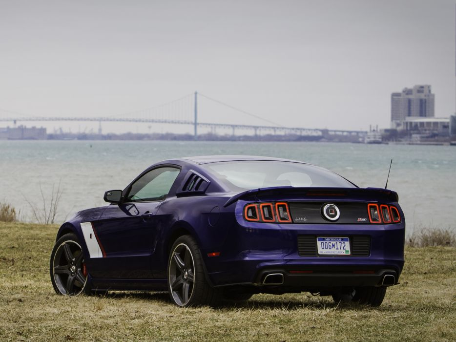 2013 Roush Ford Mustang Stage-3 muscle    f wallpaper