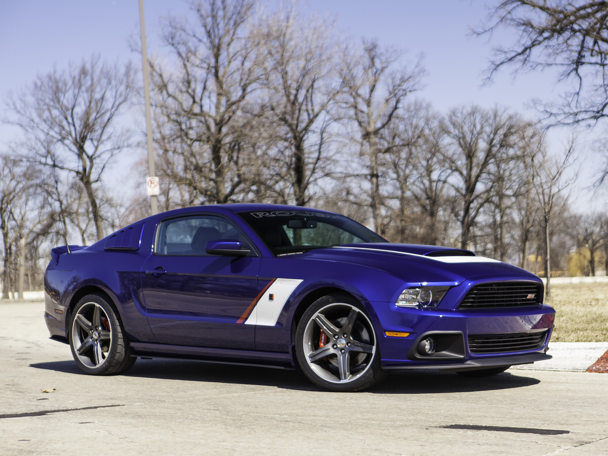 2013 Roush Ford Mustang Stage 3 Muscle F Wallpaper