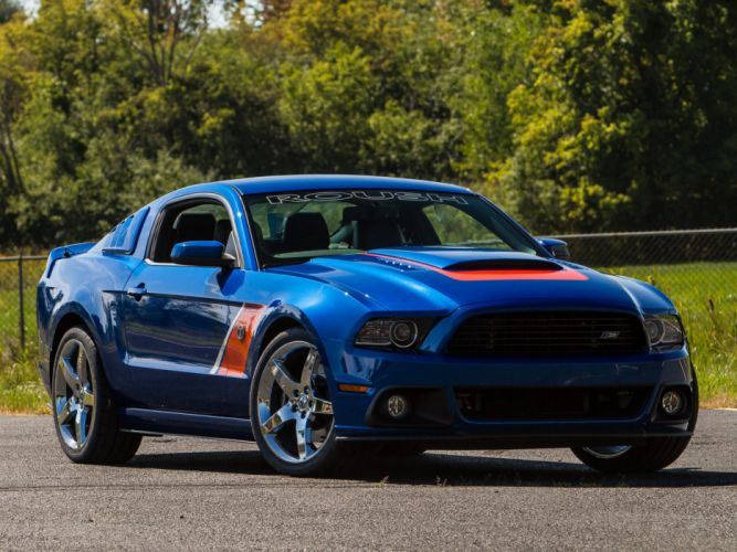 2013 Roush Ford Mustang Stage-3 muscle g wallpaper