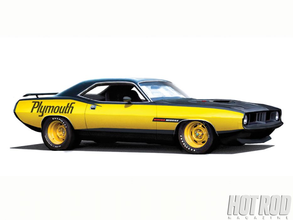 Plymouth Barracuda cuda muscle hot rod rods classic race f racing wallpaper