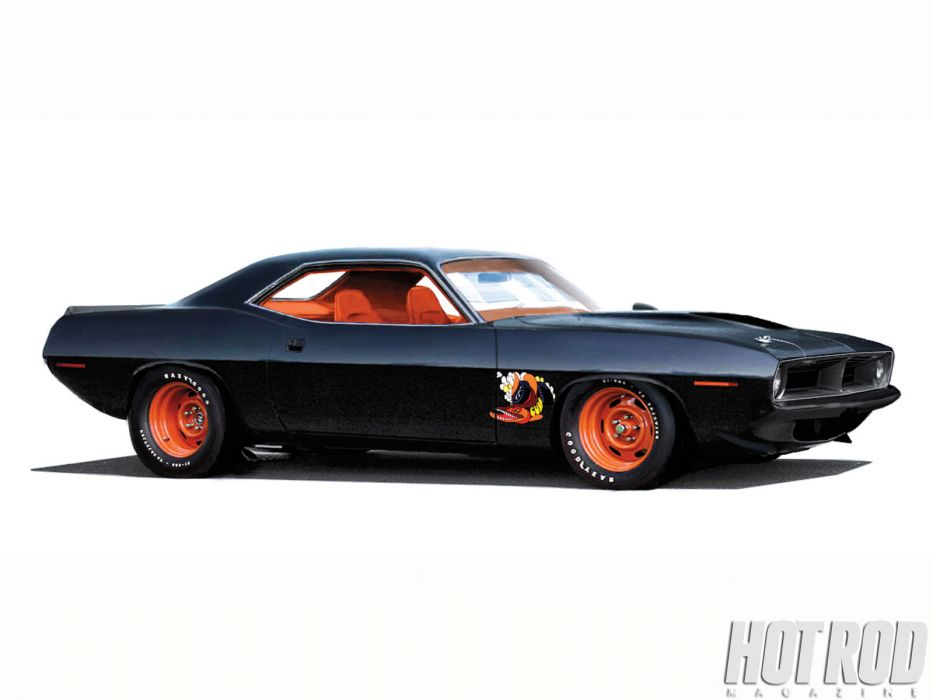 Plymouth Barracuda cuda muscle hot rod rods classic race r racing wallpaper