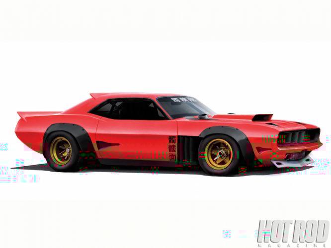 Plymouth Barracuda cuda muscle hot rod rods classic race racing pu wallpaper
