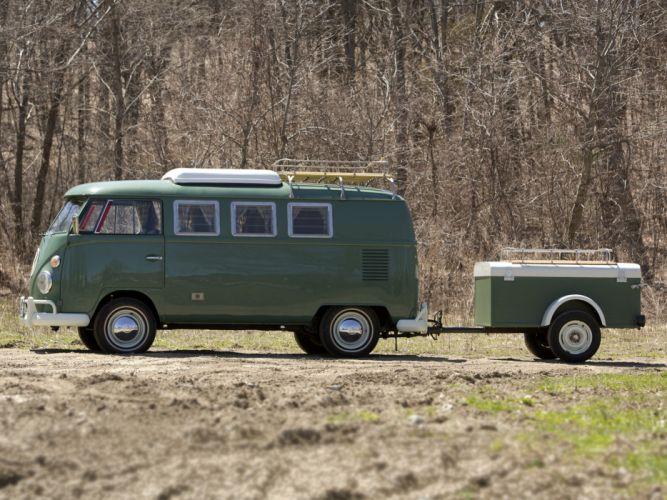 Volkswagen Type-2 Westfalia Deluxe Camper Van classic g wallpaper