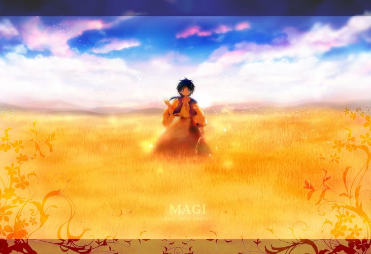 MAGI The Labyrinth of Magic Aladdin wallpaper