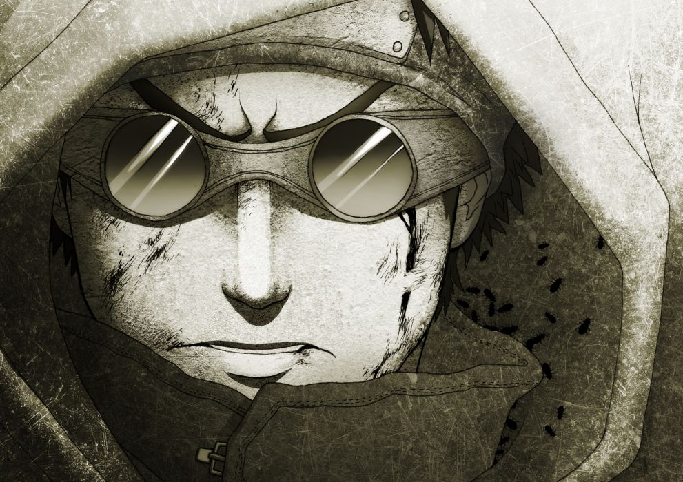 naruto aburame shino blood naruto wallpaper
