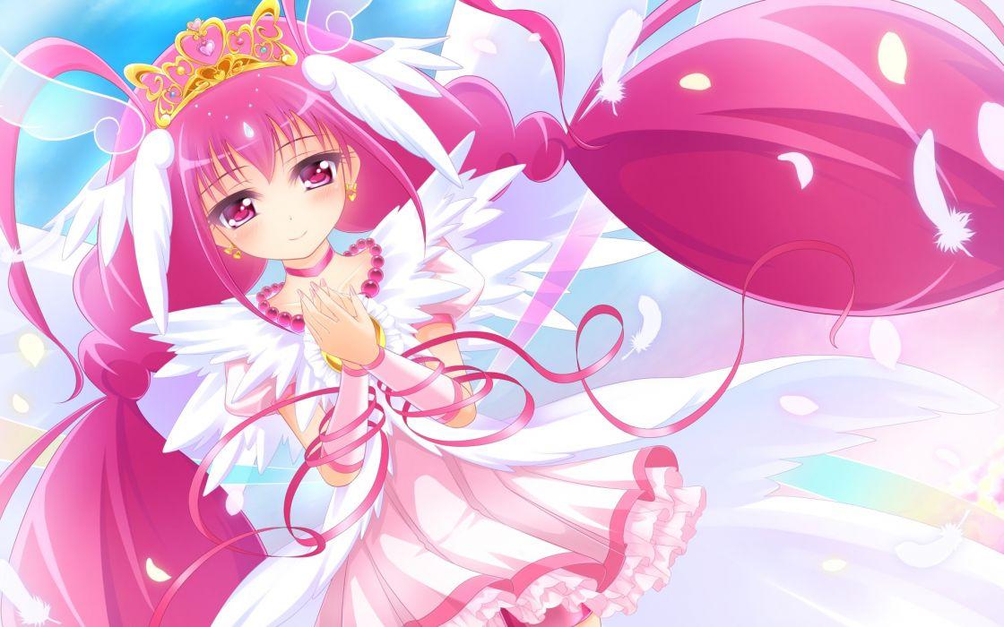 precure hoshizora miyuki precure smile precure! yayayoruyoru wallpaper