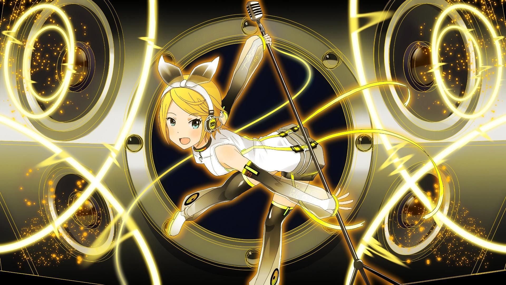 Vocaloid Wallpaper Rin Vocaloid Kagami...