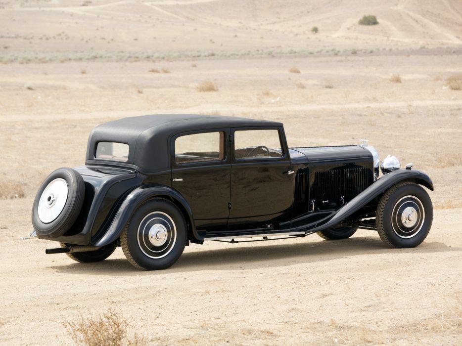 1932 Bentley 8-Litre Limousine Mulliner retro luxury    f wallpaper