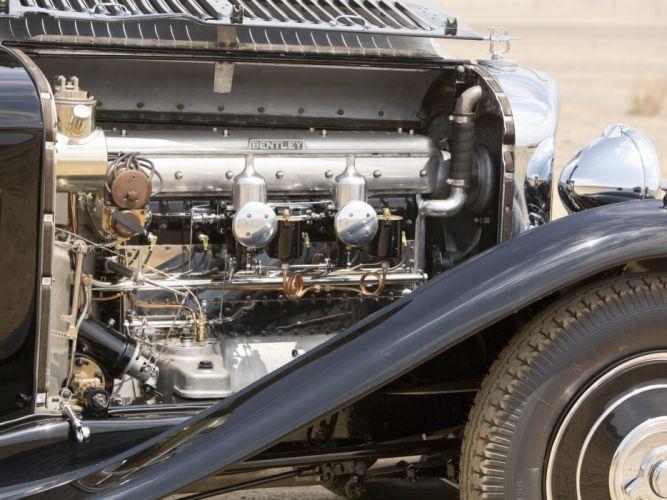 1932 Bentley 8-Litre Limousine Mulliner retro luxury engine engines e wallpaper
