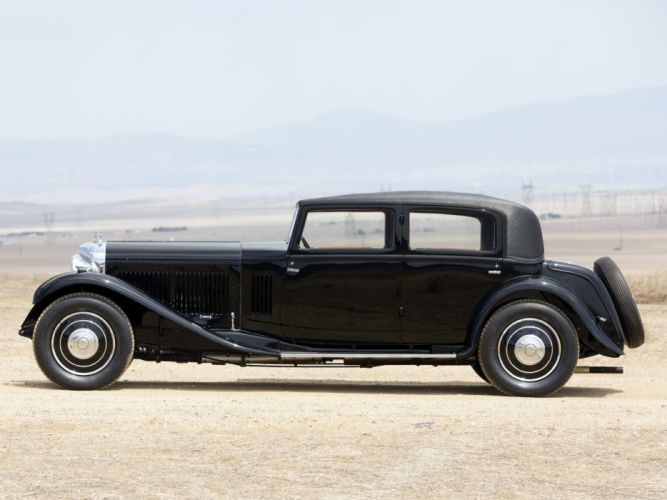 1932 Bentley 8-Litre Limousine Mulliner retro luxury g wallpaper