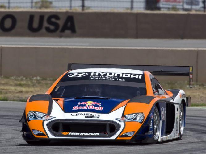 2013 Hyundai Genesis PM580-T race racing g wallpaper