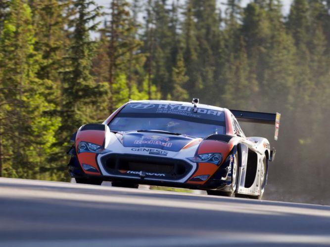 2013 Hyundai Genesis PM580-T race racing wallpaper