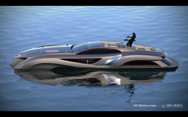 2013 Gray Design Strand Craft 166 Xhibitionist Yacht concept boat boats ship ships luxury ge wallpaper