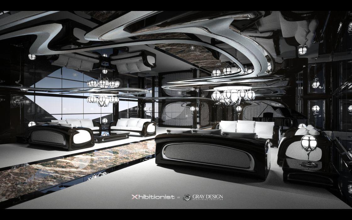 2013 Gray Design Strand Craft 166 Xhibitionist Yacht concept boat boats ship ships luxury interior wallpaper