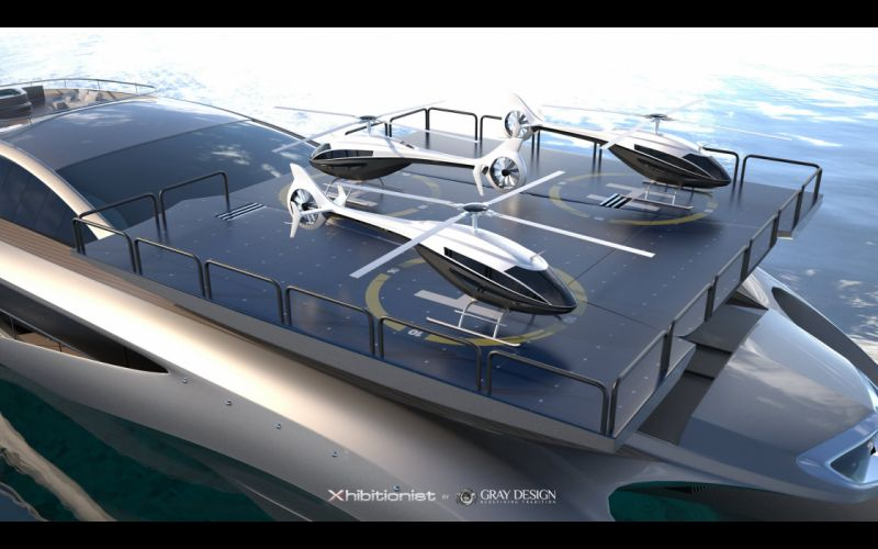 2013 Gray Design Strand Craft 166 Xhibitionist Yacht concept boat boats ship ships luxury gw wallpaper