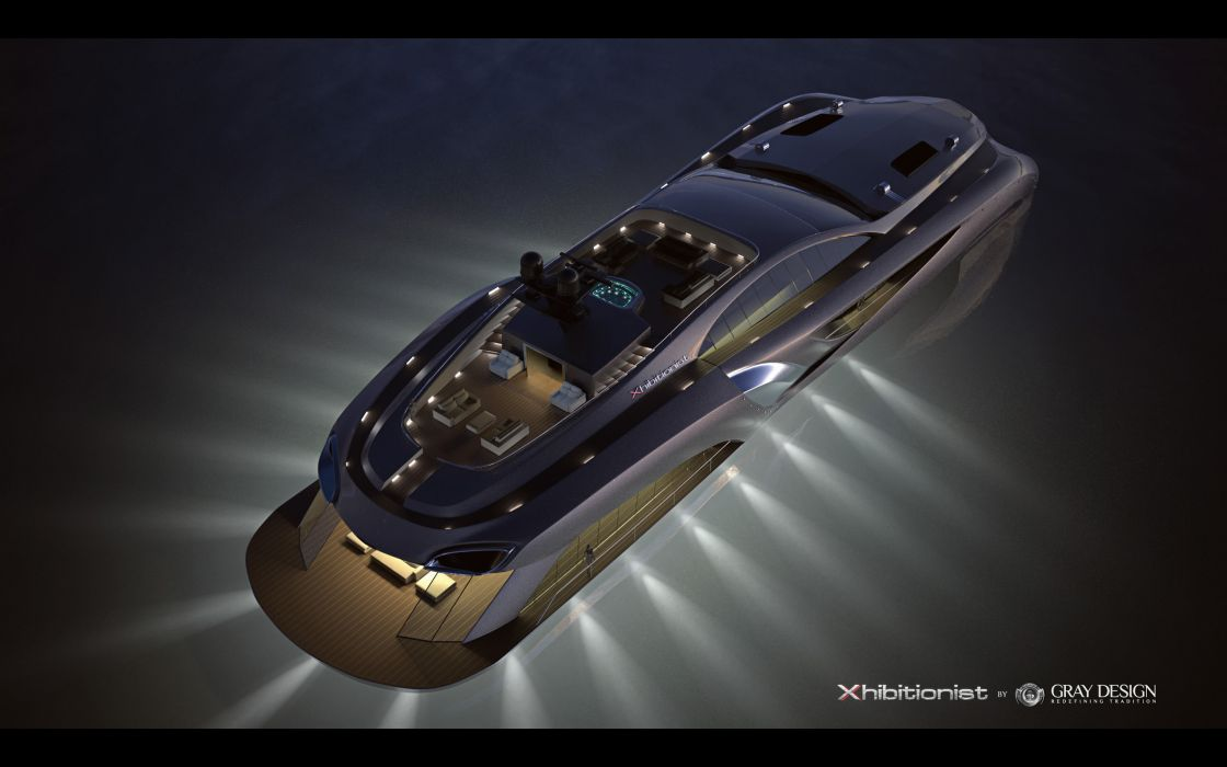 2013 Gray Design Strand Craft 166 Xhibitionist Yacht concept boat boats ship ships luxury   g wallpaper