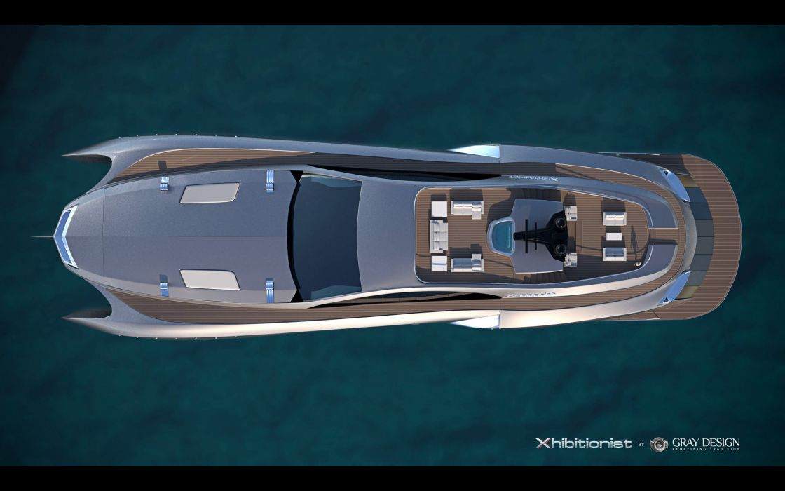 2013 Gray Design Strand Craft 166 Xhibitionist Yacht concept boat boats ship ships luxury   r wallpaper