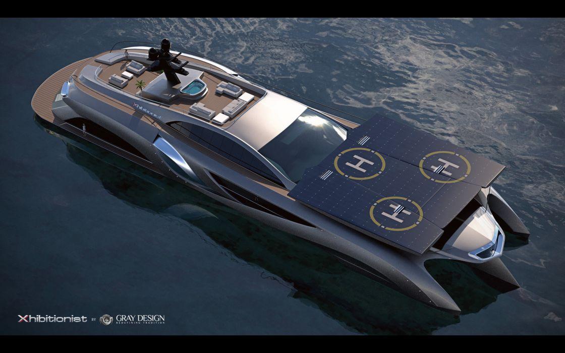 2013 Gray Design Strand Craft 166 Xhibitionist Yacht concept boat boats ship ships luxury   gw wallpaper