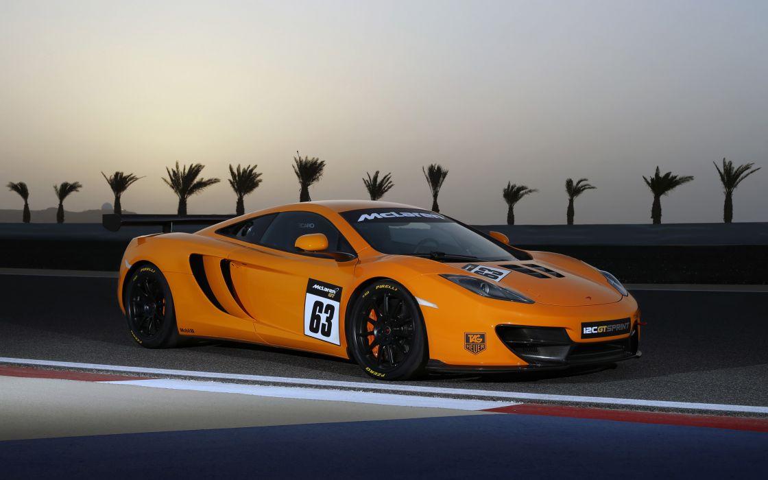 2013 McLaren 12C G-T Sprint supercar supercars g wallpaper