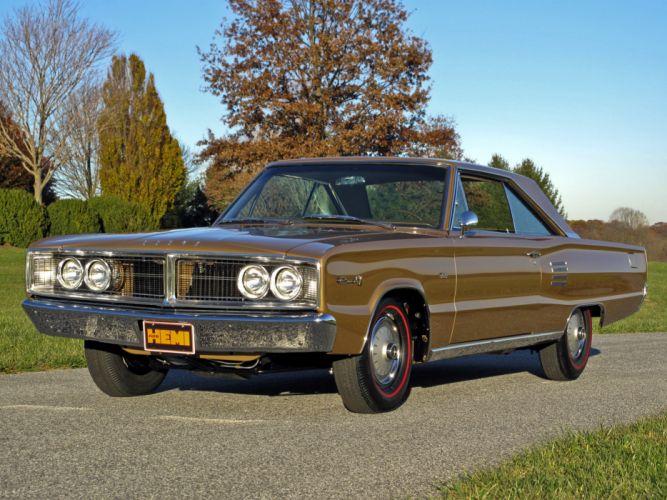 1966 Dodge Coronet 500 426 Hemi muscle classic wallpaper