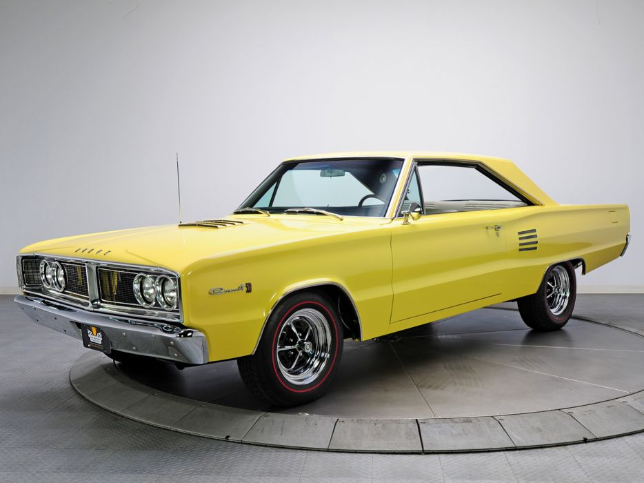 1966 Dodge Coronet 500 440 Magnum WP23 muscle classic wallpaper