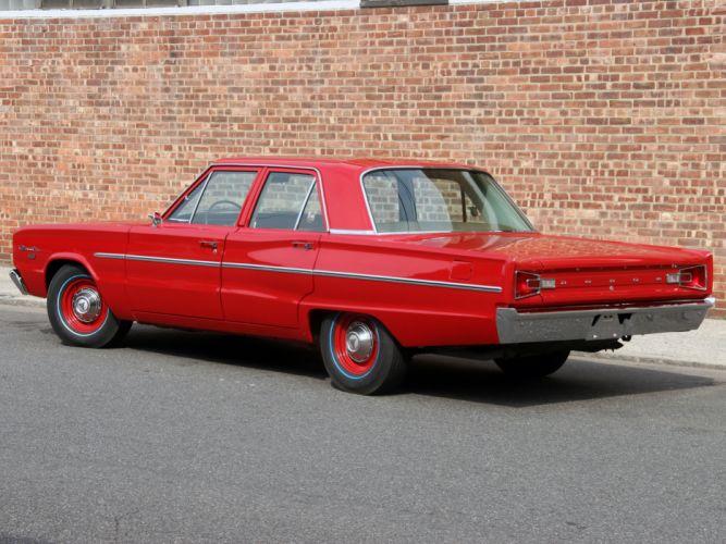 1966 Dodge Coronet Deluxe 426 Hemi 4-door Sedan muscle classic f wallpaper