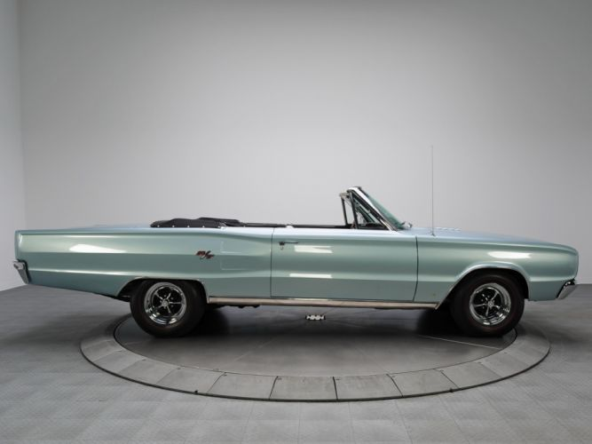 1967 Dodge Coronet R-T Convertible WS27 muscle classic g wallpaper