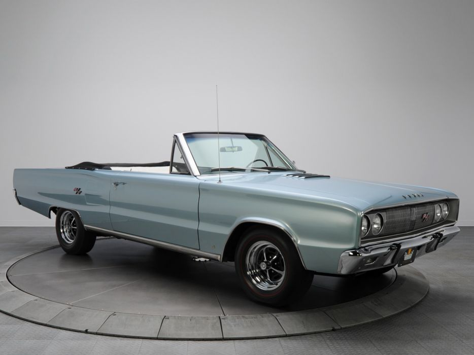 1967 Dodge Coronet R-T Convertible WS27 muscle classic   h wallpaper