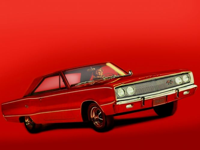 1967 Dodge Coronet R-T Hardtop Coupe WS23 muscle classic h wallpaper