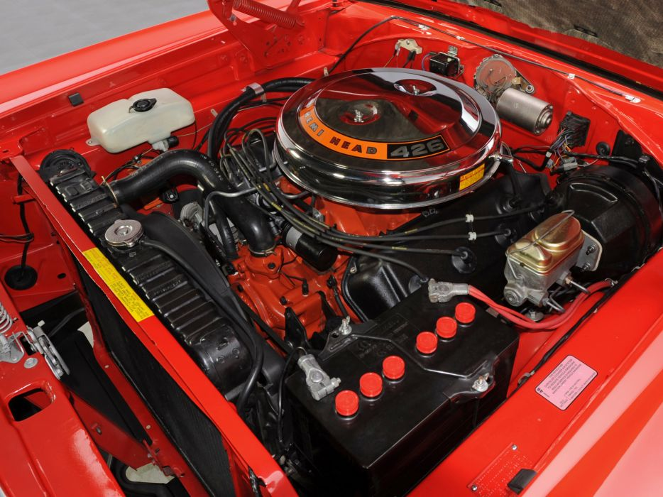 1968 Dodge Coronet R-T 426 Hemi WS23 muscle classic engine engines    g wallpaper