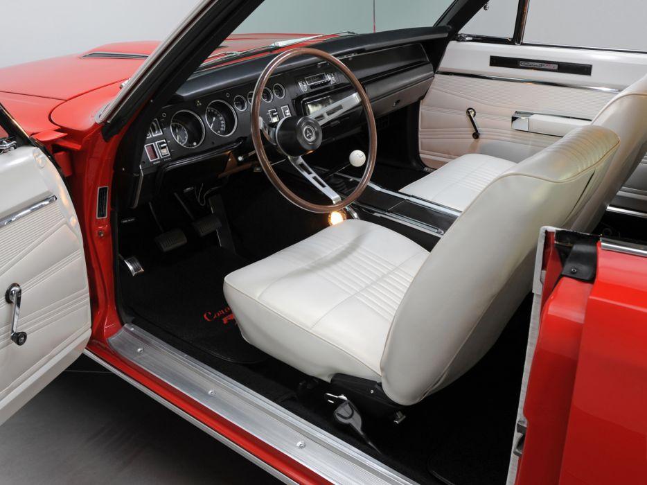 1968 Dodge Coronet R-T 426 Hemi WS23 muscle classic interior wallpaper