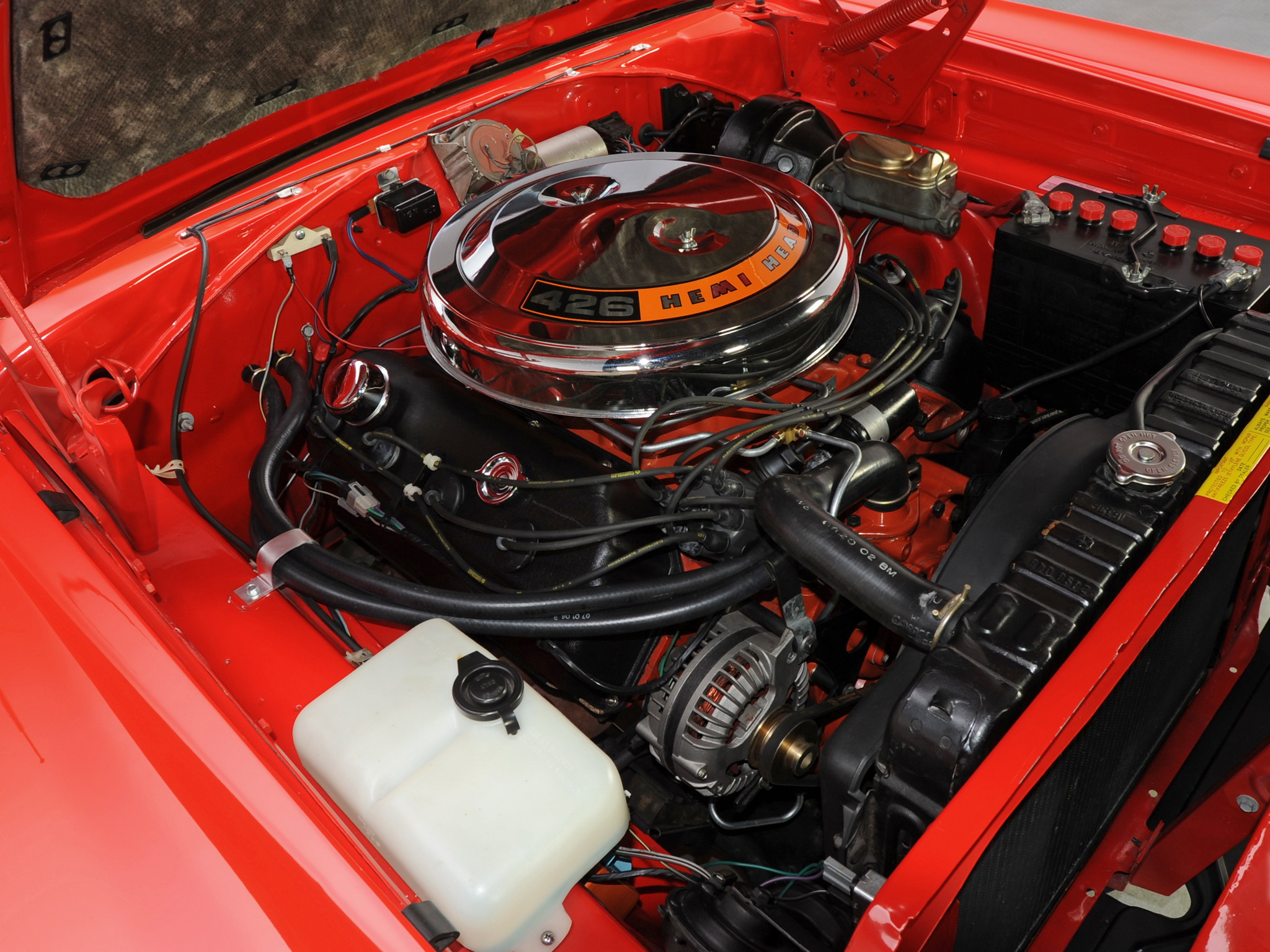 1968 Dodge Coronet R T 426 Hemi Ws23 Muscle Classic Engine