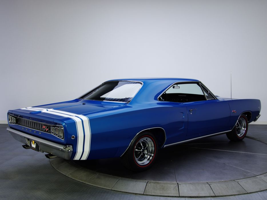1968 Dodge Coronet R-T Hardtop Coupe WS23 muscle classic   g wallpaper