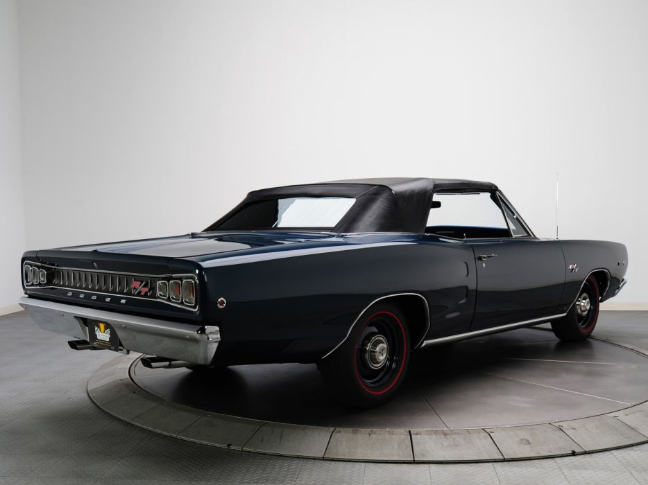 1968 Dodge Coronet R-T Hemi Convertible WS27 muscle classic     g wallpaper