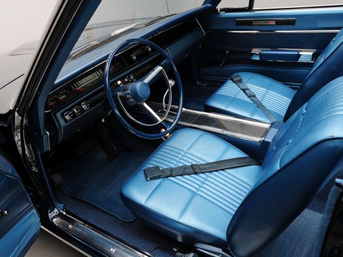 1968 Dodge Coronet R-T Hemi Convertible WS27 muscle classic interior wallpaper