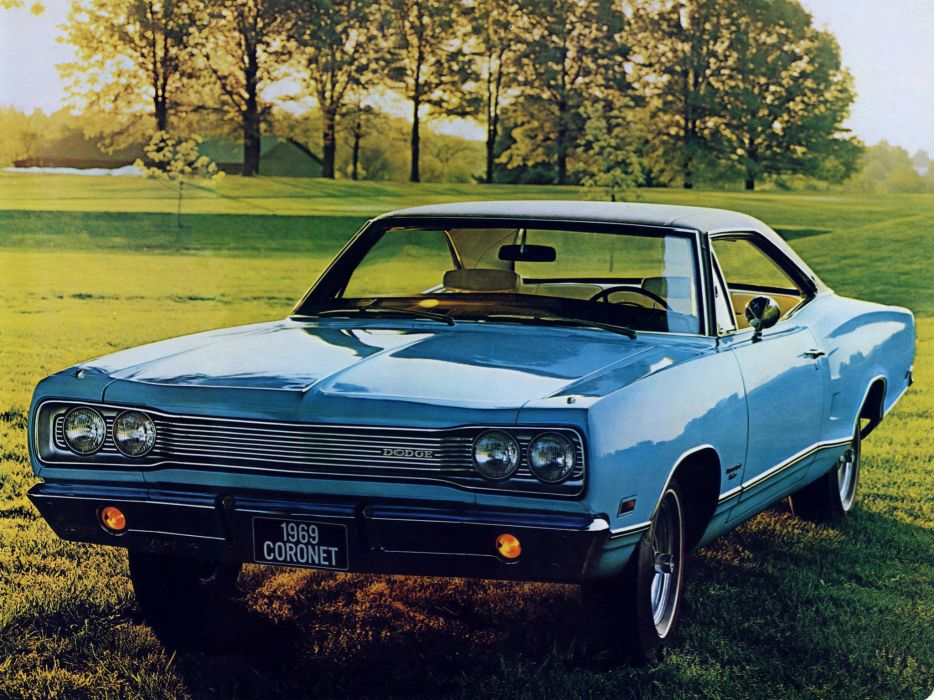 1969 Dodge Coronet 440 Hardtop Coupe WH23 muscle classic wallpaper
