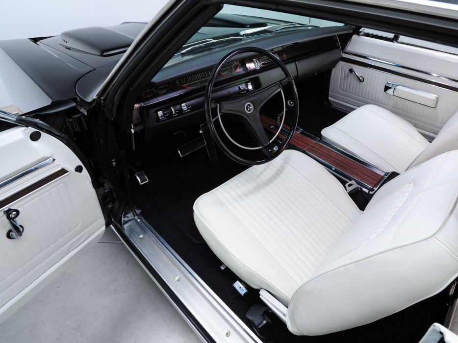1969 Dodge Coronet R-T 440 Magnum WS23 muscle classic interior wallpaper