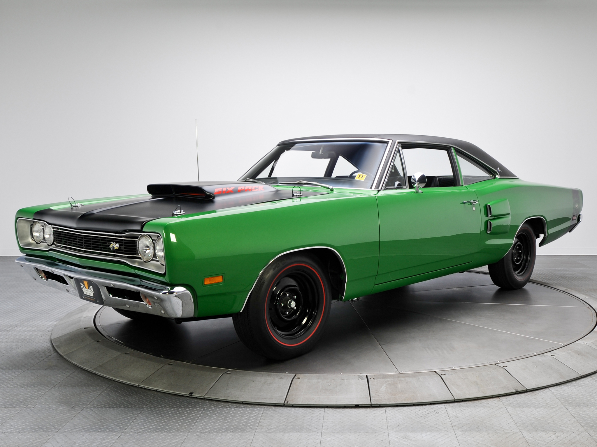 1969 Dodge Coronet Super Bee 440 Six Pack Coupe Wm21 Muscle Classic