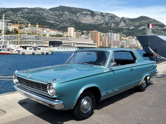 1965 Dodge Dart G-T Hardtop Coupe L42 muscle classic f wallpaper