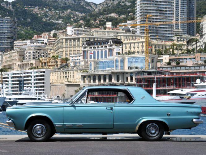 1965 Dodge Dart G-T Hardtop Coupe L42 muscle classic wallpaper