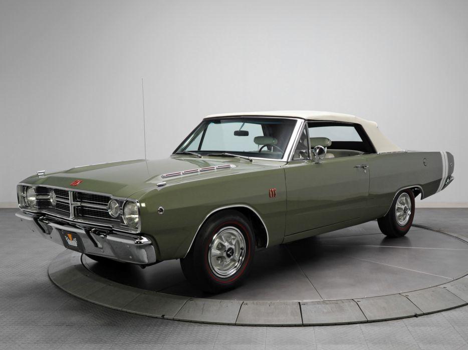 1968 Dodge Dart GTS 340 Convertible LS27 muscle classic  g wallpaper