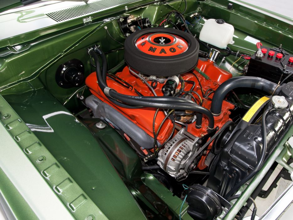 1969 Dodge Dart GTS 440 LS23 muscle classic engine engines wallpaper