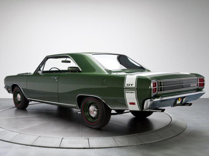 1969 Dodge Dart GTS 440 LS23 muscle classic wallpaper
