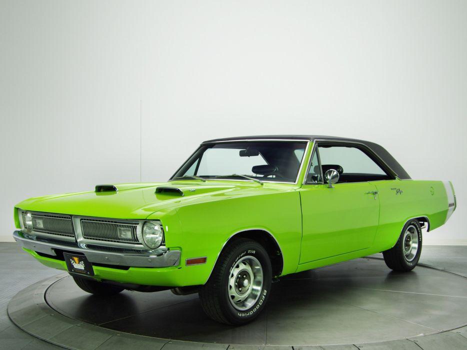 1970 Dodge Dart Swinger 340 muscle classic    f wallpaper