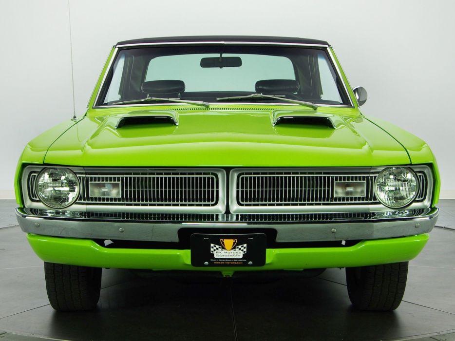 1970 Dodge Dart Swinger 340 muscle classic q wallpaper