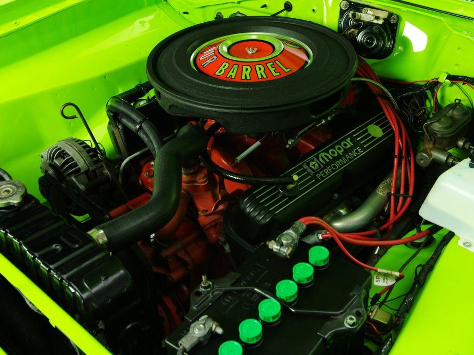 1970 Dodge Dart Swinger 340 muscle classic engine engines wallpaper