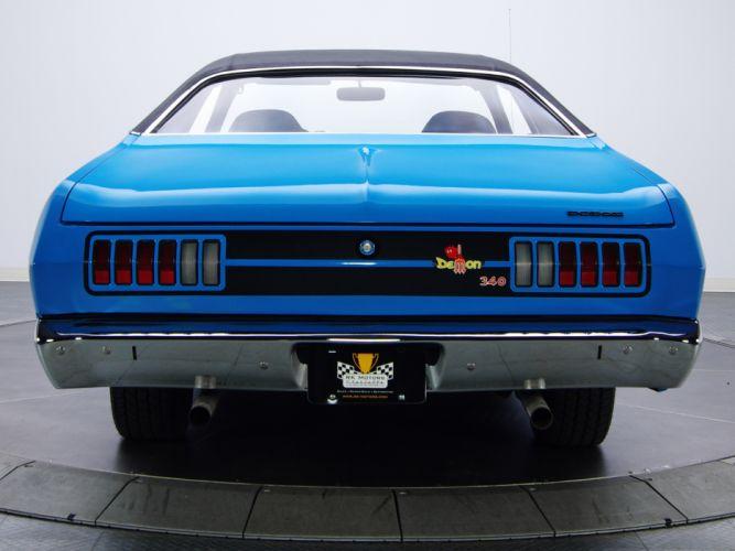1972 Dodge Dart Demon 340 LM29 muscle classic g wallpaper