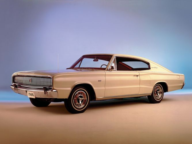 1966 Dodge Charger 383 muscle classic f wallpaper