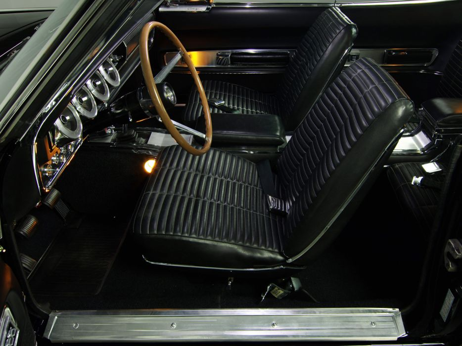 1966 Dodge Charger 383 muscle classic interior   f wallpaper