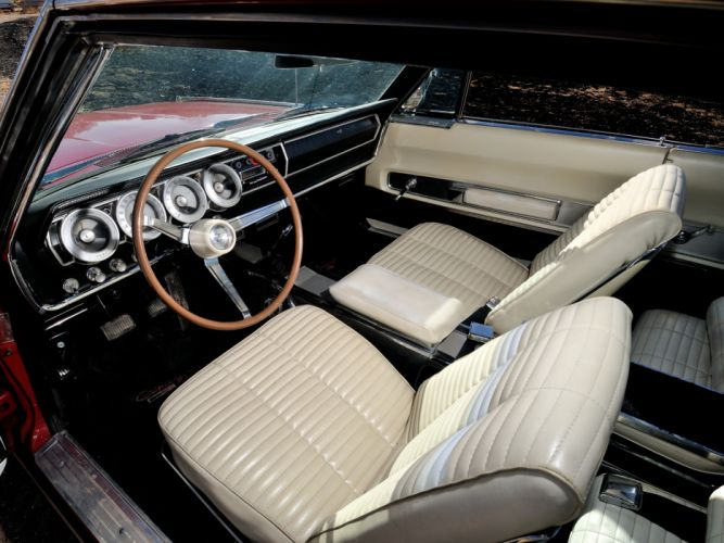 1966 Dodge Charger 383 muscle classic interior wallpaper